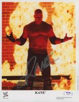 Kane Signed WWE 8x10 Photo (PSA COA) at PristineAuction.com