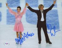 Meryl Davis & Charlie White Signed Team USA 8x10 Photo (PSA COA) at PristineAuction.com