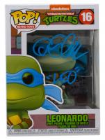 "Cam Clarke Signed ""Teenage Mutant Ninja Turtles"" #16 Leonardo Funko Pop! Vinyl Figure Inscribed ""Leo"" (JSA COA) at PristineAuction.com"