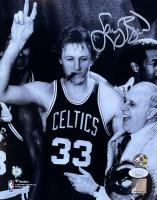 Larry Bird Signed Celtics 8x10 Photo (JSA COA & Bird Hologram) at PristineAuction.com