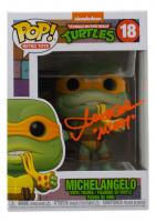 "Townend Coleman Signed ""Teenage Mutant Ninja Turtles"" #18 Michelangelo Funko Pop! Vinyl Figure Inscribed ""Mikey"" (JSA COA) at PristineAuction.com"
