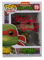 """Rob Paulsen Signed """"Teenage Mutant Ninja Turtles"""" #19 Raphael Funko Pop! Vinyl Figure Inscribed """"Raphael"""" (JSA COA) at PristineAuction.com"""