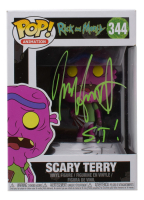 """Jess Harnell Signed """"Rick and Morty"""" #344 Scary Terry Funko Pop! Vinyl Figure Inscribed """"S.T."""" (JSA COA) at PristineAuction.com"""