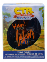 "Jess Harnell Signed ""Crash Team Racing"" Mini Funko Pop! Vinyl Figure Inscribed ""Whoa!"" (JSA COA) at PristineAuction.com"