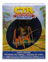 "Jess Harnell Signed ""Crash Team Racing"" Mini Funko Pop! Vinyl Figure (JSA COA) at PristineAuction.com"