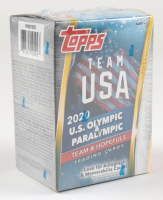2020 Topps US Olympics & Paralympic Hopefuls Blaster Box with (25) Cards at PristineAuction.com