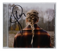 """Taylor Swift Signed """"Evermore"""" CD Album Booklet (Beckett LOA) at PristineAuction.com"""