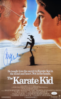 """Ralph Macchio Signed """"The Karate Kid"""" 11x17 Movie Poster (JSA COA) at PristineAuction.com"""