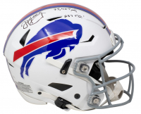 """Jim Kelly Signed Giants Full-Size Authentic On-Field SpeedFlex Helmet Inscribed """"35,467 Yards"""" & """"237 T.D."""" (JSA COA) at PristineAuction.com"""