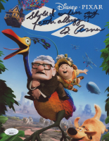 """Ed Asner Signed """"Up"""" 8x10 Photo Inscribed """"Should I Confess My Feather Allergy??"""" (JSA COA) at PristineAuction.com"""