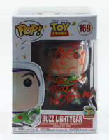 """Floyd Norman Signed """"Toy Story"""" - Buzz Lightyear #169 Funko Pop! Vinyl Figure with Hand-Drawn Buzz Sketch (PA COA) at PristineAuction.com"""
