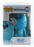 """Floyd Norman Signed """"Monsters, Inc."""" - Sulley #385 Funko Pop! Vinyl Figure with Hand-Drawn Sulley Sketch (PA COA) at PristineAuction.com"""