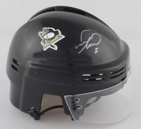 Mark Recchi Signed Penguins Logo Mini-Helmet (PSA COA) (See Description) at PristineAuction.com