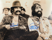 Cheech Marin & Tommy Chong Signed 11x14 Photo (JSA COA) (See Description) at PristineAuction.com