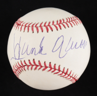 Hank Aaron Signed OML Baseball (PSA COA) at PristineAuction.com