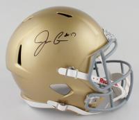 Jack Coan Signed Notre Dame Fighting Irish Full-Size Speed Helmet (JSA COA) at PristineAuction.com