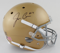 Jack Coan Signed Notre Dame Fighting Irish Full-Size Helmet (JSA COA) at PristineAuction.com