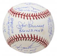 OML Baseball Signed by (11) with Bucky Dent, Ralph Terry, Bobby Richardson, Scott Brosius, Whitey Ford, Reggie Jackson with Multiple Inscriptions (MLB Hologram & Steiner Hologram) at PristineAuction.com