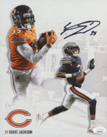 Eddie Jackson Signed Bears 8x10 Photo (JSA COA) at PristineAuction.com