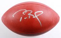 """Tom Brady Signed """"The Duke"""" Super Bowl LV Logo NFL Official Game Ball (Fanatics Hologram) (See Description) at PristineAuction.com"""