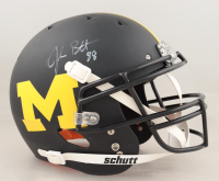 Jake Butt Signed Michigan Wolverines Full-Size Authentic On-Field Matte Black Helmet (Beckett Hologram) (See Description) at PristineAuction.com
