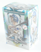 2021 Topps Fire Baseball Blaster Box with (8) Packs at PristineAuction.com