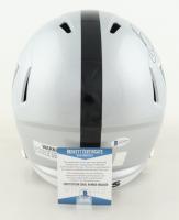 Bo Jackson Signed Raiders Full-Size Speed Helmet (Beckett COA & Jackson Hologram) at PristineAuction.com