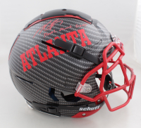 """Michael Vick Signed Full-Size Authentic On-Field Hydro-Dipped F7 Helmet Inscribed """"Dual Threat Goat"""" (PSA Hologram) (See Description) at PristineAuction.com"""