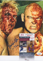 "Baron Von Raschke Signed 8x10 Photo Inscribed ""The Claw"" (JSA COA) at PristineAuction.com"
