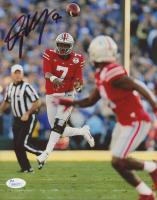 Dwayne Haskins Signed Ohio State Buckeyes 8x10 Photo (JSA COA) at PristineAuction.com