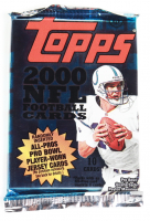2000 Topps Football Retail Pack with (10) Cards at PristineAuction.com