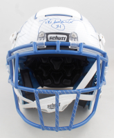 Tiki Barber Signed Full-Size Authentic On-Field Hydro-Dipped F7 Helmet (Radtke Hologram) (See Description) at PristineAuction.com