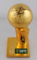 Oscar Robertson Signed Replica Larry O'Brien NBA Finals Trophy (JSA COA) at PristineAuction.com