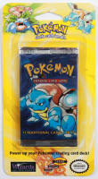 1999 WOTC Pokemon Unlimited Blastoise Blister Pack with (11) Cards at PristineAuction.com