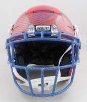Tiki Barber Signed Full-Size Authentic On-Field Hydro-Dipped F7 Helmet (Radtke Hologram) at PristineAuction.com