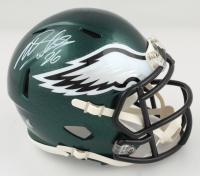 Miles Sanders Signed Eagles Speed Mini Helmet (JSA COA) (See Description) at PristineAuction.com