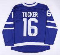 Darcy Tucker Signed Maple Leafs Alternate Captain Jersey (COJO COA) at PristineAuction.com