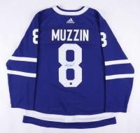 Jake Muzzin Signed Leafs Jersey (COJO COA) at PristineAuction.com