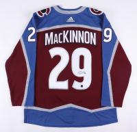 Nathan MacKinnon Signed Avalanche Alternate Captain Jersey (COJO COA) at PristineAuction.com
