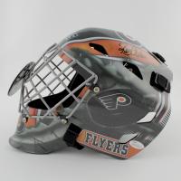 Ron Hextall Signed Flyers Full-Size Hockey Goalie Mask (JSA COA) at PristineAuction.com