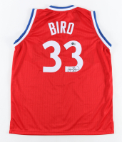 Larry Bird Signed Jersey (Beckett Hologram) at PristineAuction.com