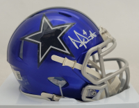 Dak Prescott Signed Cowboys Flash Alternate Speed Mini Helmet (Beckett Hologram) at PristineAuction.com