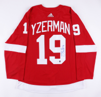 Steve Yzerman Signed Red Wings Captain Jersey (COJO COA & JSA Hologram) at PristineAuction.com