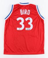 Larry Bird Signed Jersey (Bird Hologram & Beckett Hologram) at PristineAuction.com