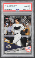 Aaron Judge 2017 Topps Now #740 RC (PSA 10) at PristineAuction.com
