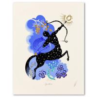 "Erte Signed ""Sagittarius"" Limited Edition 20x25 Serigraph #183/350 at PristineAuction.com"
