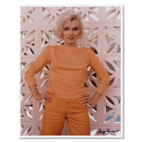 """George Barris Signed """"Marilyn Monroe: The Last Shoot"""" 11x14 Photograph Printed from the Original Negative #98/99 at PristineAuction.com"""