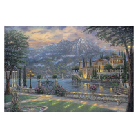 """Robert Finale Signed """"Villa Balbianello"""" Artist Embellished MP Limited Edition 18x27 Giclee on Canvas at PristineAuction.com"""
