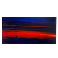 """Wyland Signed """"Water Planet"""" 24x48 Original Painting on Canvas at PristineAuction.com"""