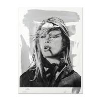 "Mr. Brainwash Signed ""BB (Bridgitte Bardot)"" 38x50 Silkscreen Acrylic Overpaint #1/1 at PristineAuction.com"